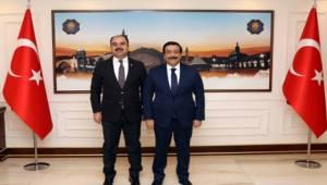 Başkan Çiftçi'den Başkan Atilla'ya Ziyaret