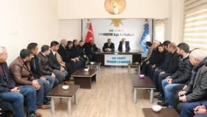 Başkan Çiftçi Viranşehir'de Parti Teşkilatı İle Buluştu