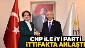 CHP ile İYİ Parti İttifakta Anlaştı
