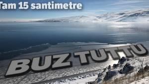 Çıldır Gölü Buz Tuttu