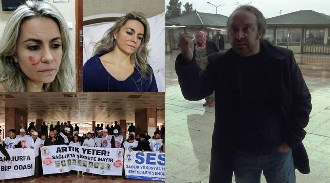 Darp Olayı Protestosunda Doktordan Şok Tepki