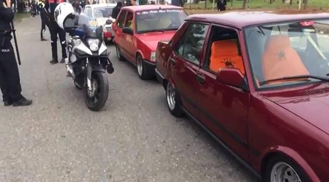 Drift Yapan Sürücü Tespit Edildi Ceza Kesildi