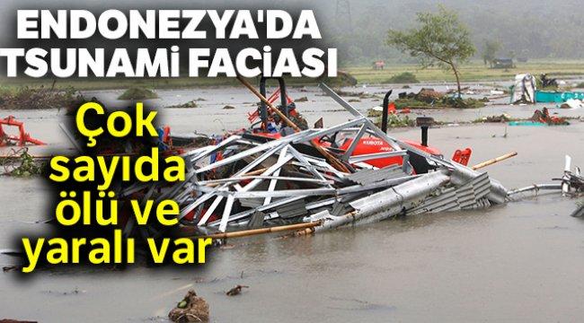 Endonezya'da Tsunami Çok sayıda ölü ve yaralı var