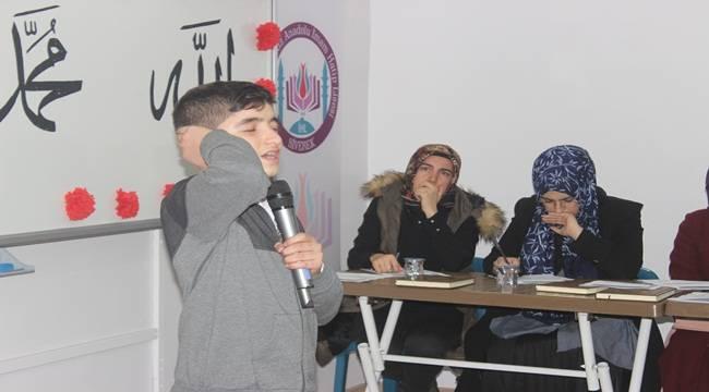 Genç Bilal'ler Ezan Yarışması Düzenlendi