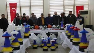 Haliliye'de 19 Okula Spor Malzemesi Desteği Verildi