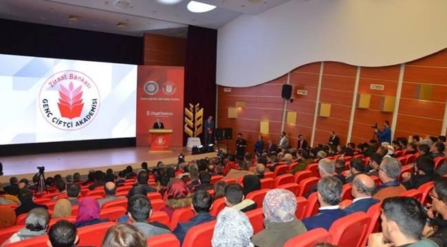 Harran Üniversitesinde Genç Çiftçi Akademisi Açıldı