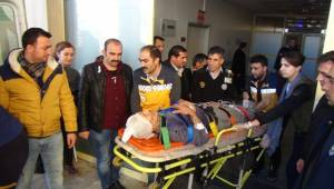 İki Aile Arasında Boru Kavgası 9 Yaralı