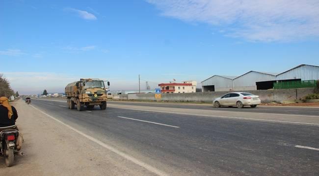 İlk askeri birlikler Suriye sınırına ulaştı