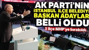 İstanbul'da 3 İlçe MHP'ye Bırakıldı