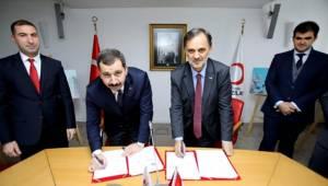 Karaköprü'de İki Önemli Protokol İmzalandı