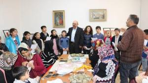 Kaymakam Göker'den Bozova Halk Eğitime Ziyaret