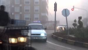 Kilis'te Sis Nedeniyle Görüş Mesafesi 20 Metreye Düştü