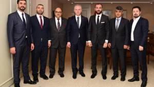 Kitso Başkanı Celkanlı'dan Vali Gül'e Ziyaret