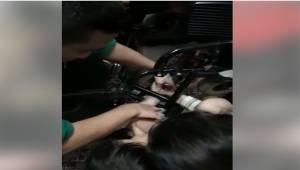 Küçük Çocuğun Ayağı Tekerlekli Sandalyeye Sıkıştı