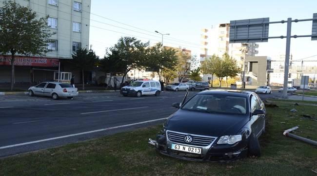Mehmetçik İlkokulu Yanında Kaza 7 Yaralı