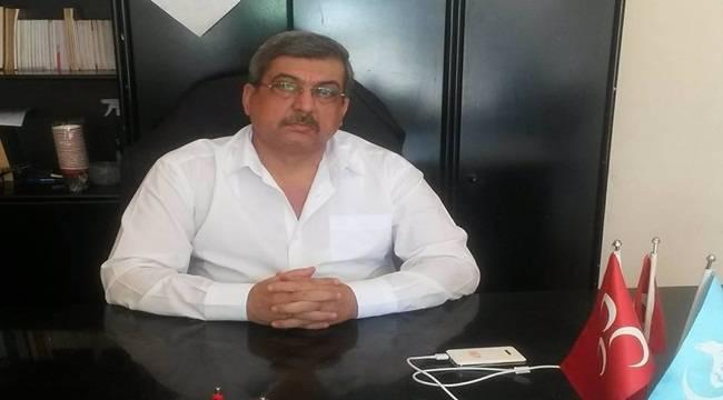 MHP Ceylanpınar İlçe Başkanı İstifa Etti