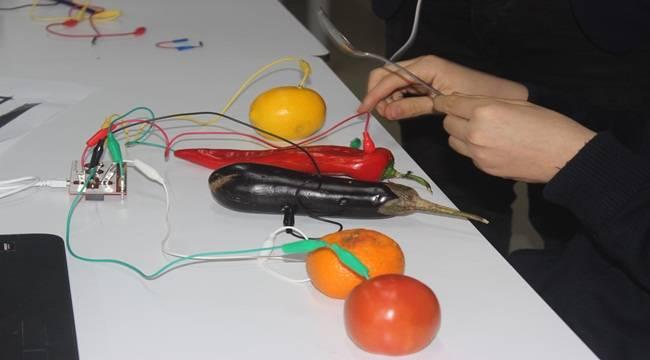 Öğrenciler Elektrik Devrelerini Adeta Konuşturuyor