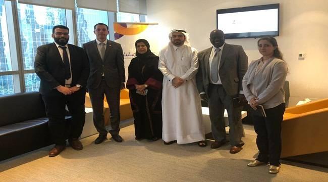 Özşavlı Katar'da Temaslarda bulundu