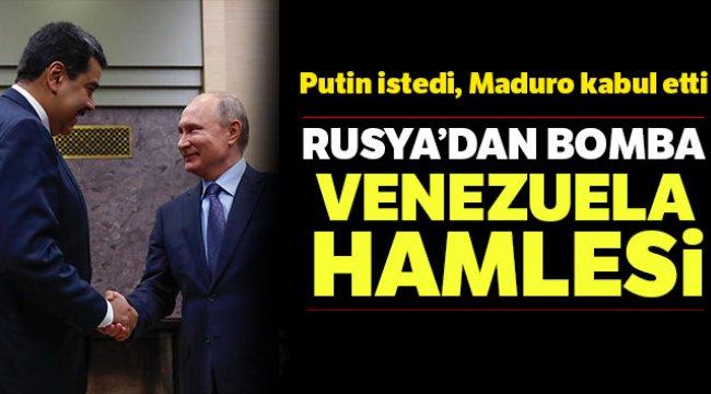 Rusya'dan Bomba Venezuela Hamlesi