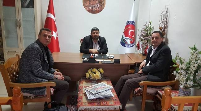 Sağlık-Sen Şanlıurfa Başkanı Yabir'den Güler'e Ziyaret