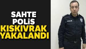 Sahte polis adliyede kıskıvrak yakalandı