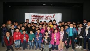 Şanlıurfa AÇSH'den 100 Çocuğa Sinema Etkinliği