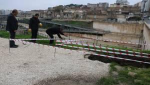 Şanlıurfa'nın Tarihi Köprüsünde Göçük