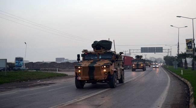 Şanlıurfa Sınırına Askeri Araç Sevki Devam Ediyor
