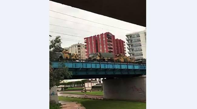 Şanlıurfa sınırına demiryolu ile askeri sevkiyat