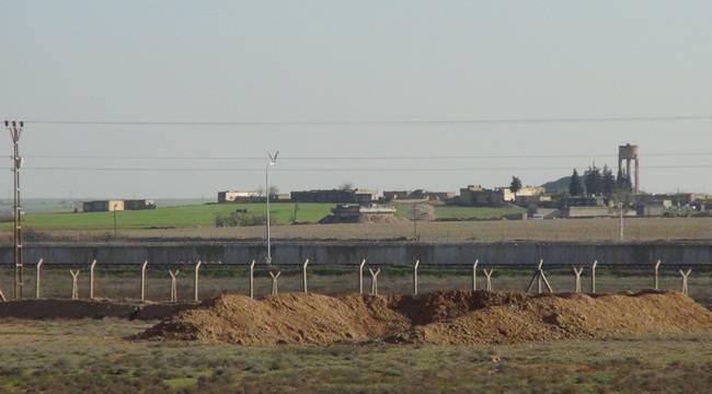 Şanlıurfa Suriye Sınırında Dikkat Çeken Detay