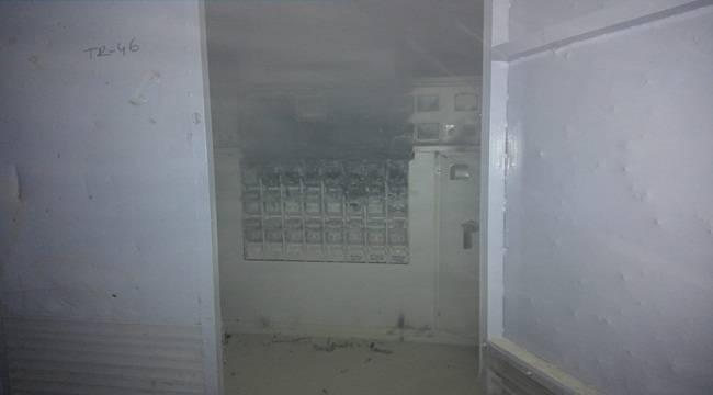 Siverek'te Trafo Merkezi Yandı