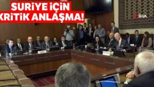 Suriye İçin Kritik Anlaşma