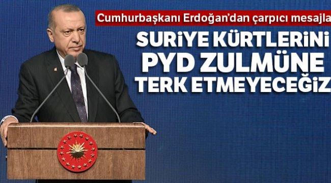 Suriye Kürtlerini PYD'nin Zulmüne Terk Etmeyeceğiz