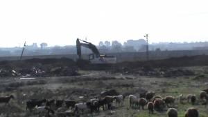 Suriye Sınırında Kanal Çalışması