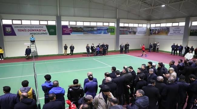 Tenis Dünyası Hizmete Açıldı