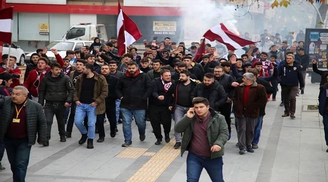 Tokatspor Taraftarı Farkındalık Yürüyüşü Yaptı