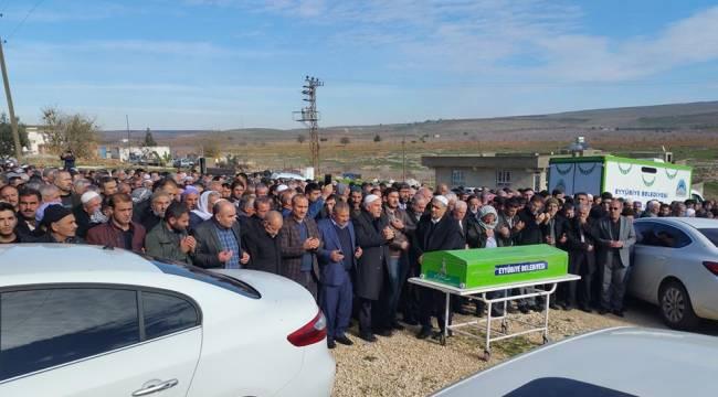 Tren Kazasında Hayatını Kaybeden Yusuf Yetim Defnedildi