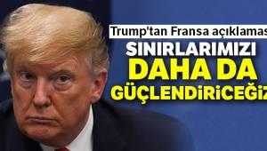 Trump'tan Fransa Açıklaması