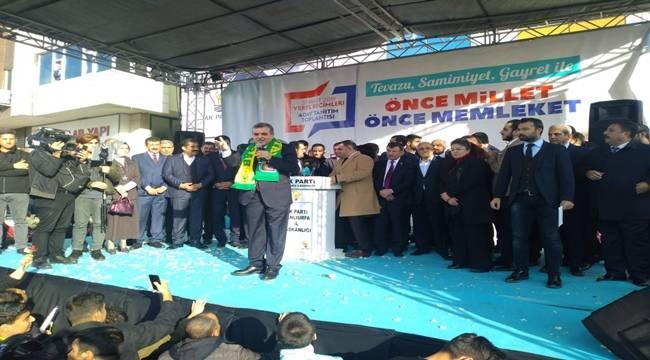 Urfa AK Parti diyor Urfa Beyazgül Diyor