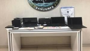 Urfa'da Kaçak Bahis Operasyonu 9 Kişiye Yasal İşlem