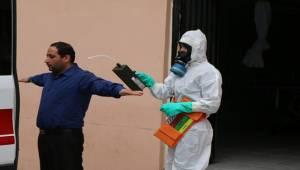 Urfa'da Kimyasal Arındırma Tatbikatı