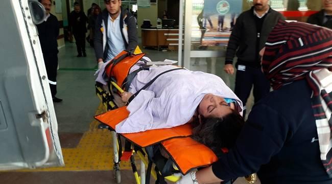 Urfa Sınırında Bir Kadın Mayına Bastı