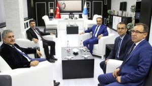 Vali Recep Soytürk'ten Rektör Karacoşkun'a İade-i Ziyaret