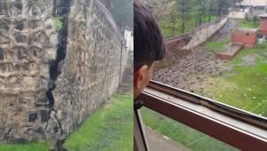 Vatan Ortaokulunun Duvarı Çöktü