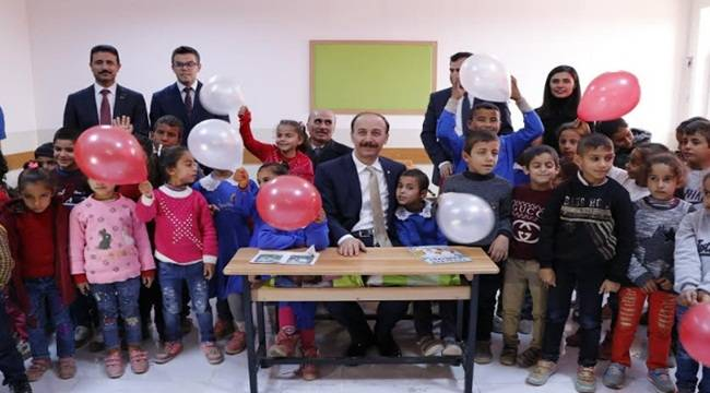Vergili İlk ve Ortaokulu Hizmete Açıldı