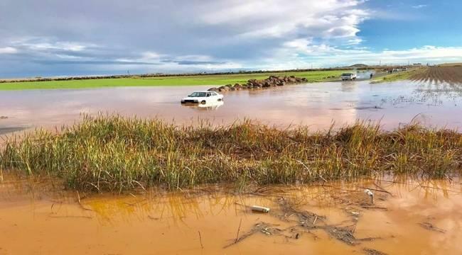 Viranşehir'de Yağış Sele Dönüştü