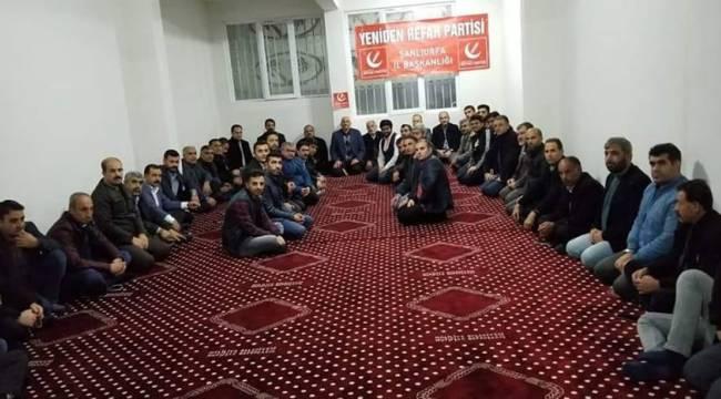 Yeniden Refah Partisi Şanlıurfa İlk Toplantısını Yaptı