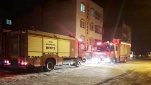 Ahmet Yesevi Mahallesinde Yangın