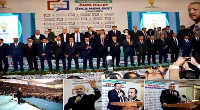 AK Parti Şanlıurfa 31 Mart Adaylarını Tanıttı