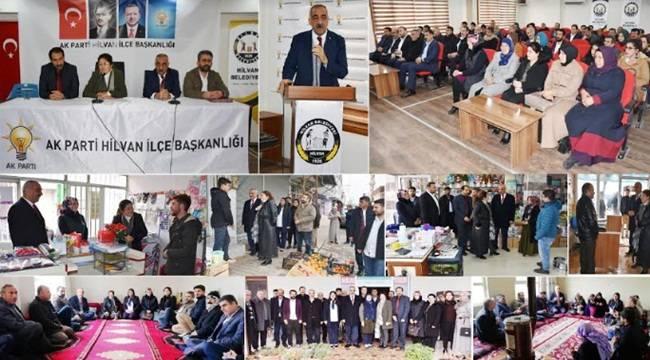 AK Parti Hilvan 2019 Yılının İlk Toplantısını Yaptı